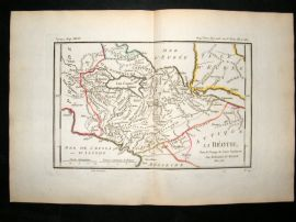 Barthelemy 1790 Antique Map Boeotia, Greece